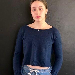 Navy Sweater